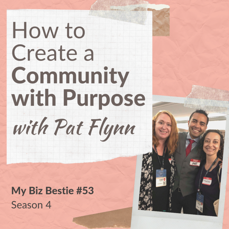 How to Create a Community with Purpose with Pat Flynn